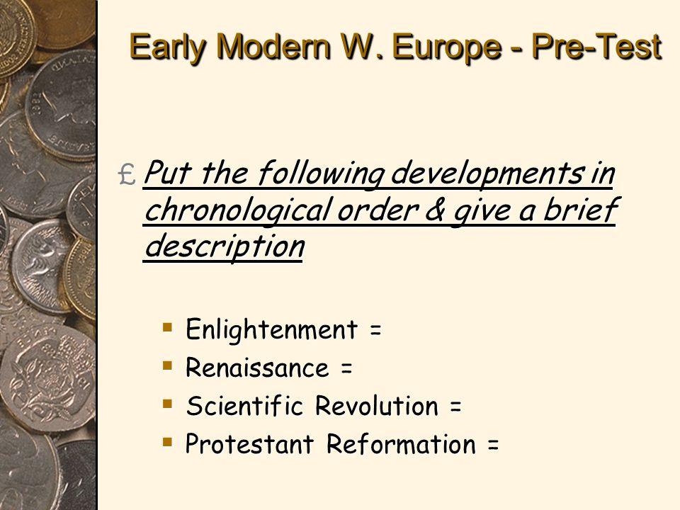 Early Modern W.