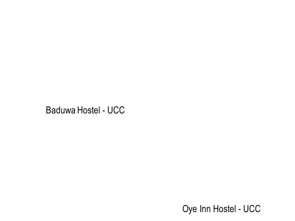 Baduwa Hostel - UCC Oye Inn Hostel - UCC