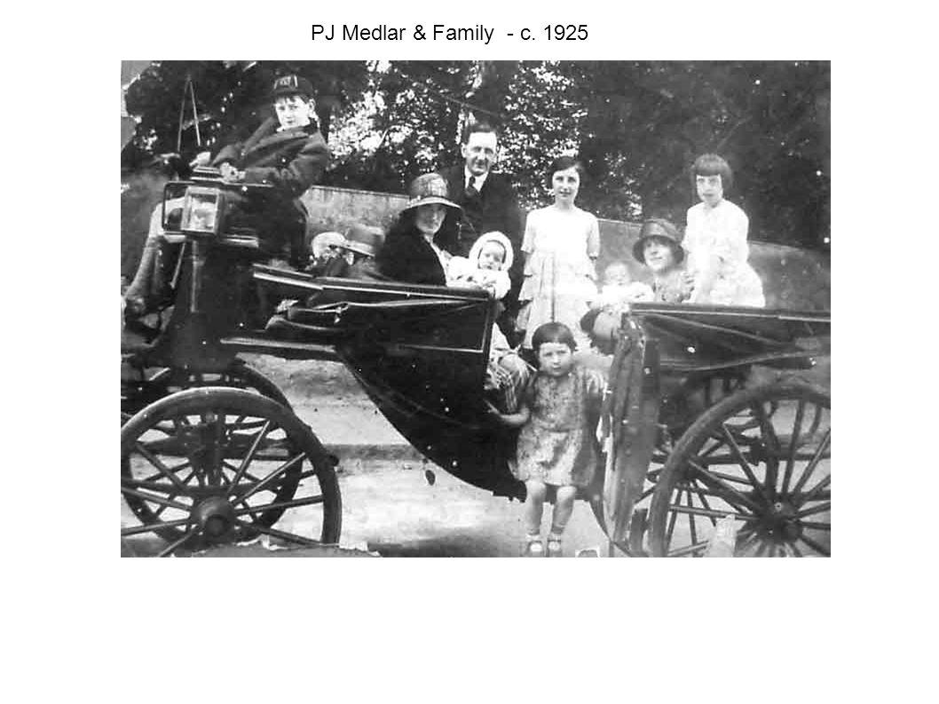 PJ Medlar & Family - c. 1925