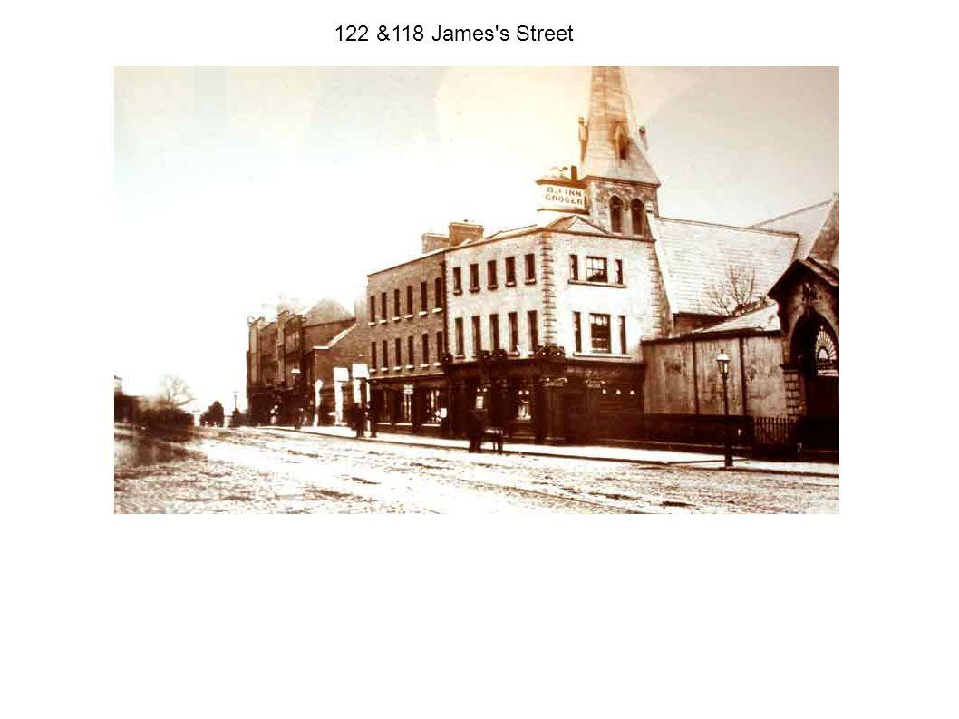 122 &118 James s Street