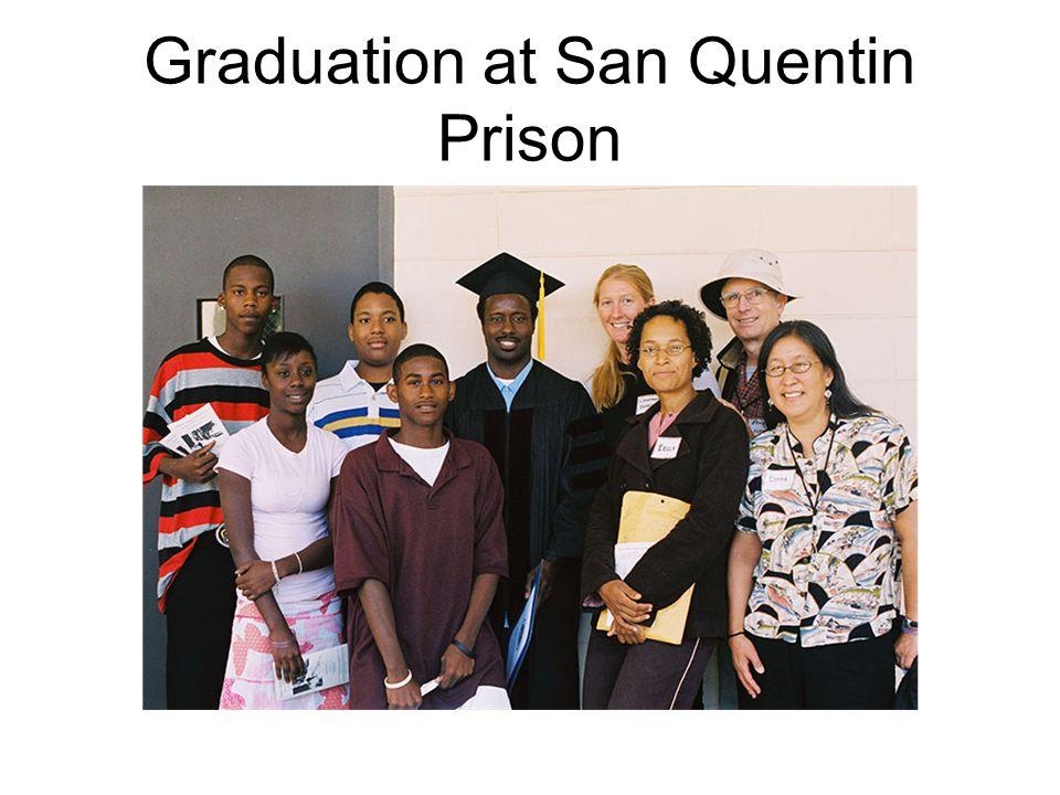 Graduation at San Quentin Prison