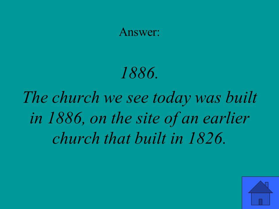 Answer: 1886.
