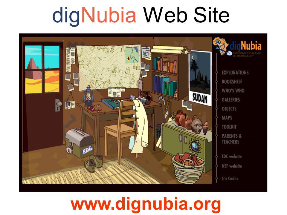digNubia Web Site www.dignubia.org