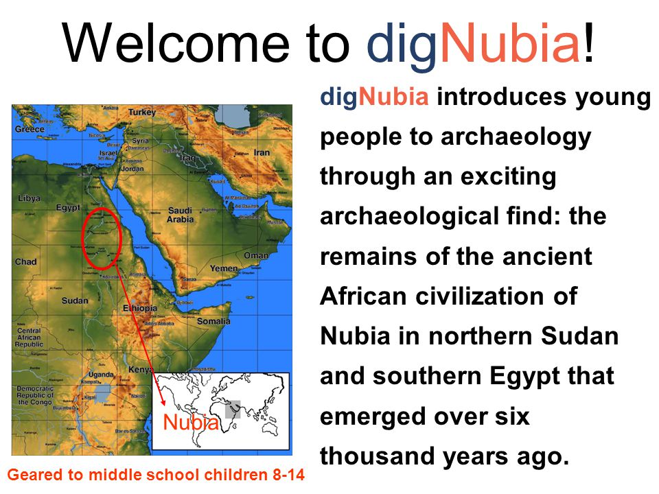 Welcome to digNubia.