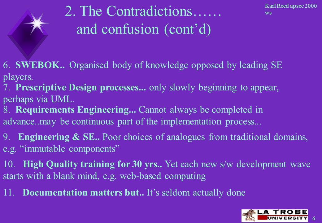 17 Karl Reed apsec 2000 ws The result of an engineering design