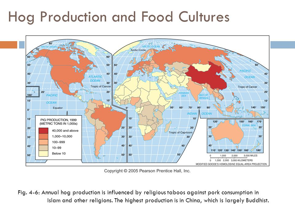 Hog Production and Food Cultures Fig.