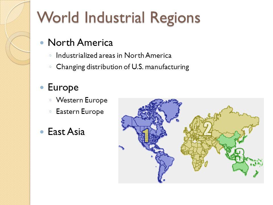 Manufacturing Regions Fig.