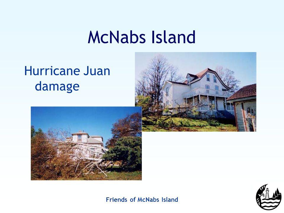 Friends of McNabs Island McNabs Island Hurricane Juan damage