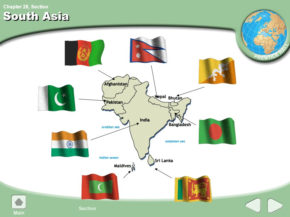Chapter 28, Section South Asia