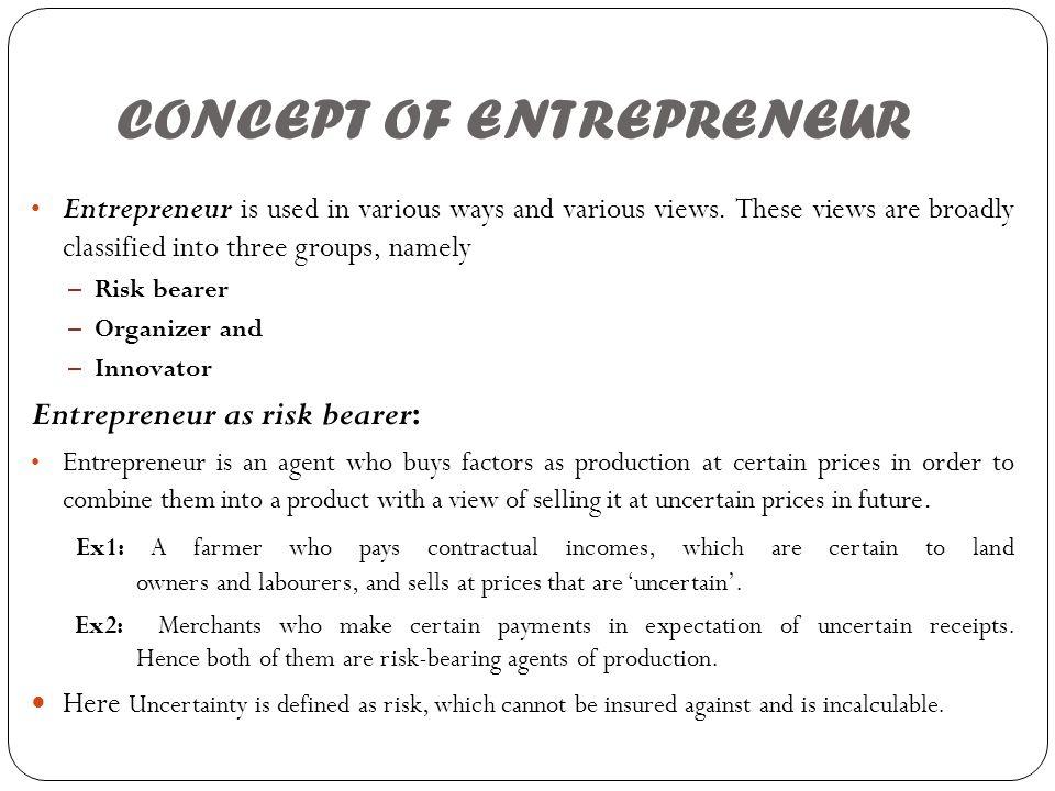 Rewards for an Entrepreneur 1.Freedom to work. 2.