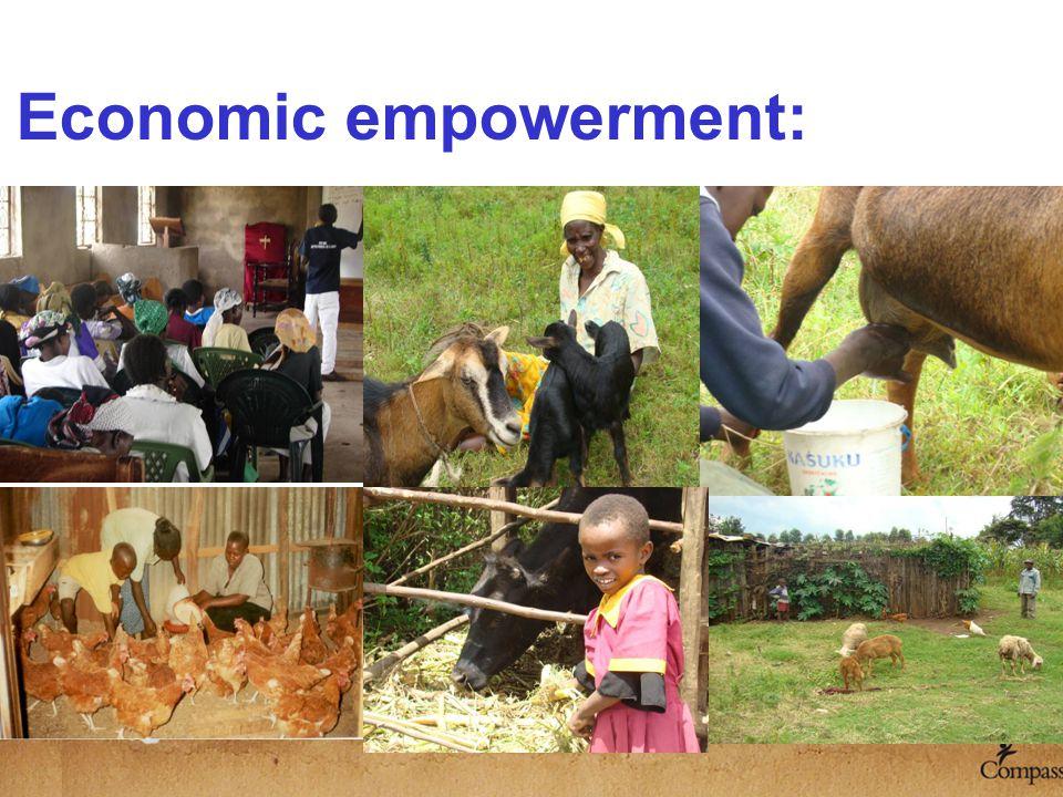 Economic empowerment: