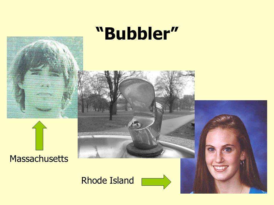 """""""Bubbler"""" Massachusetts Rhode Island"""