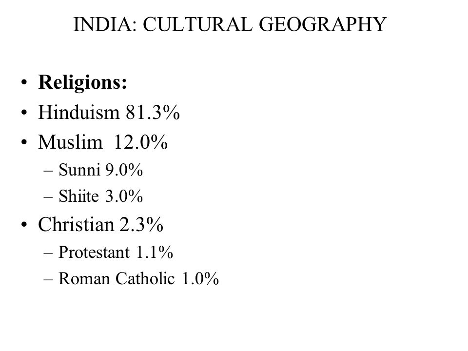 Language in India alone
