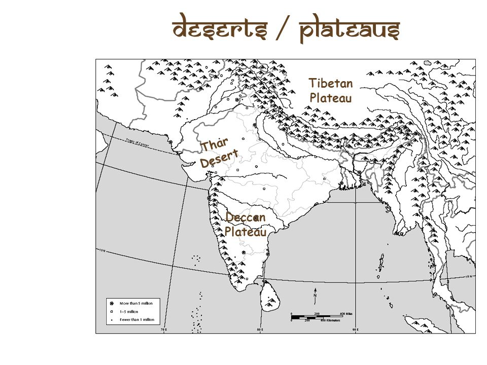 Plateaus and Deserts