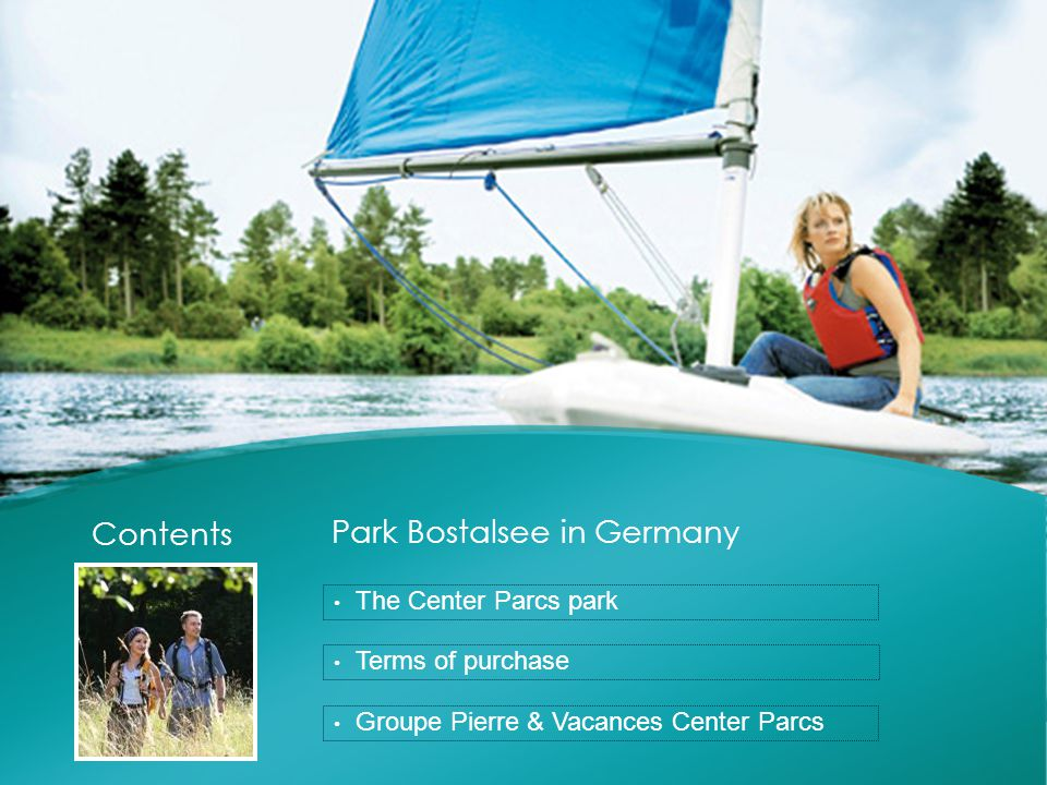 PARK BOSTALSEE  Center Parcs in Germany  The Saarland  Lake Bostalsee  The park  Leisure activities  Cottages VIP Premium Comfort  A long-term investment