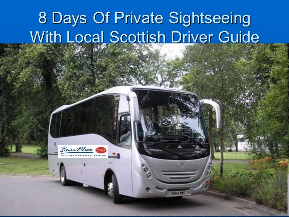 8 Days Of Private Sightseeing With Local Scottish Driver Guide