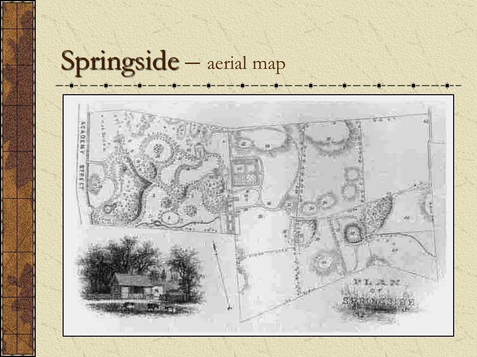 Springside Springside – aerial map