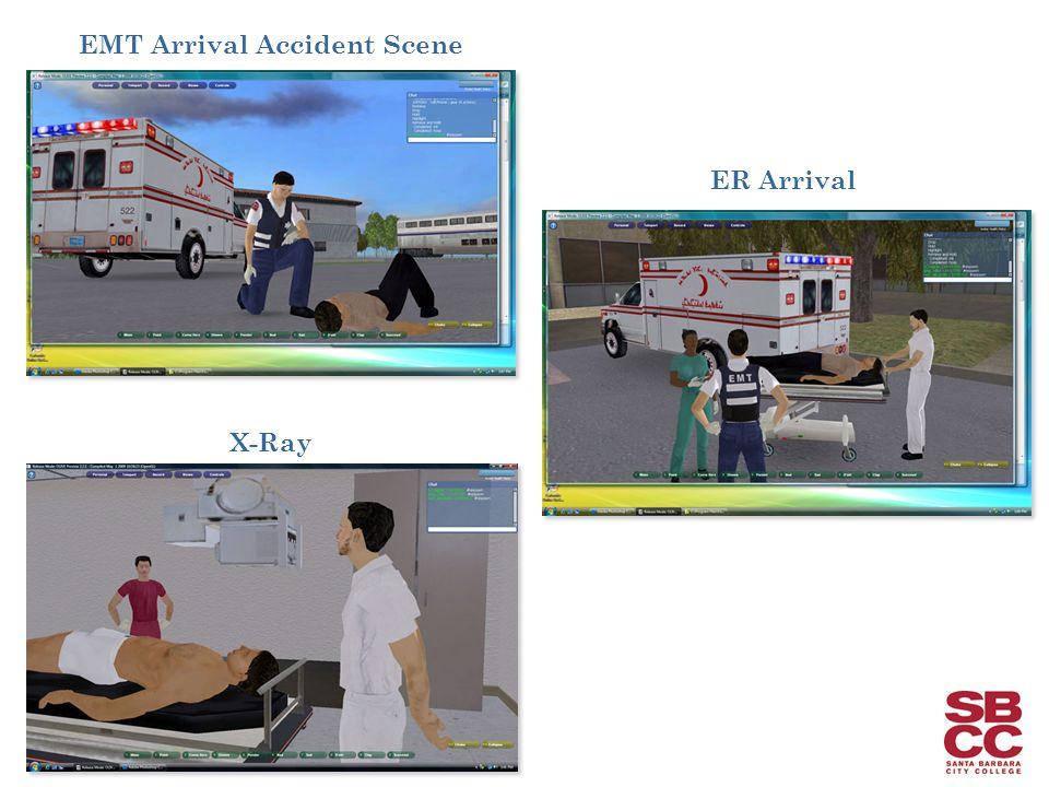 EMT Arrival Accident Scene ER Arrival X-Ray