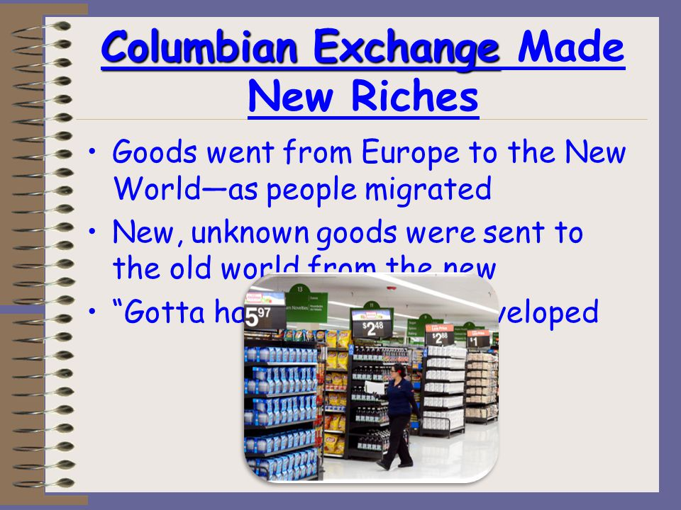 So because of the Changing Economics… Who got rich and why.