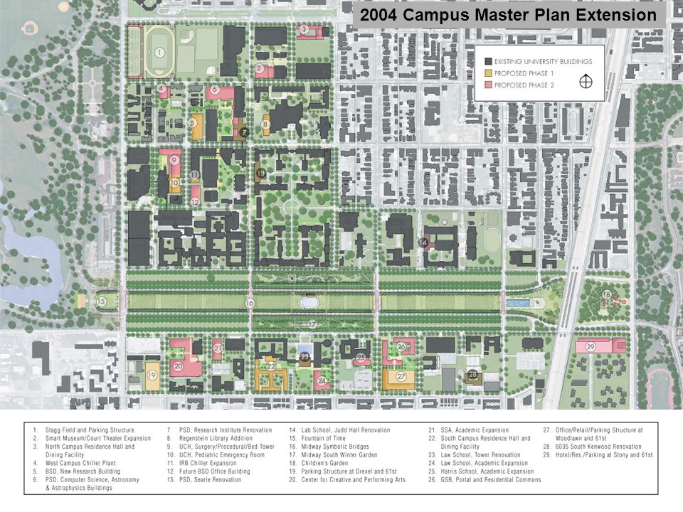 2004 Campus Master Plan Extension