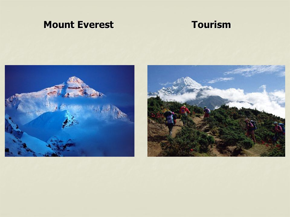 Mount Everest Tourism