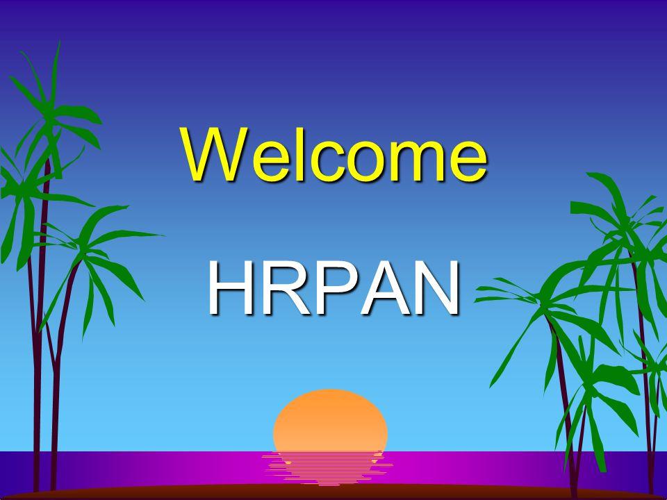 Welcome HRPAN