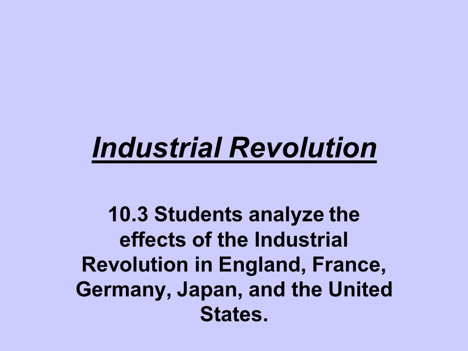 Writing an editorial Take out the chart of your notes on the Industrial Revolution.