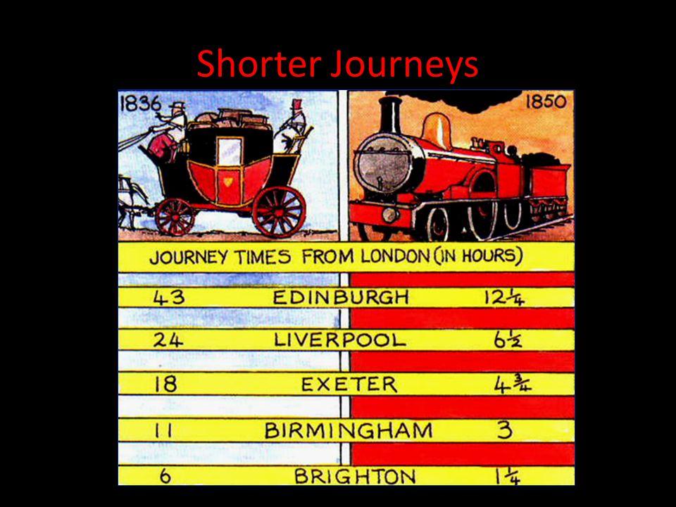 Shorter Journeys