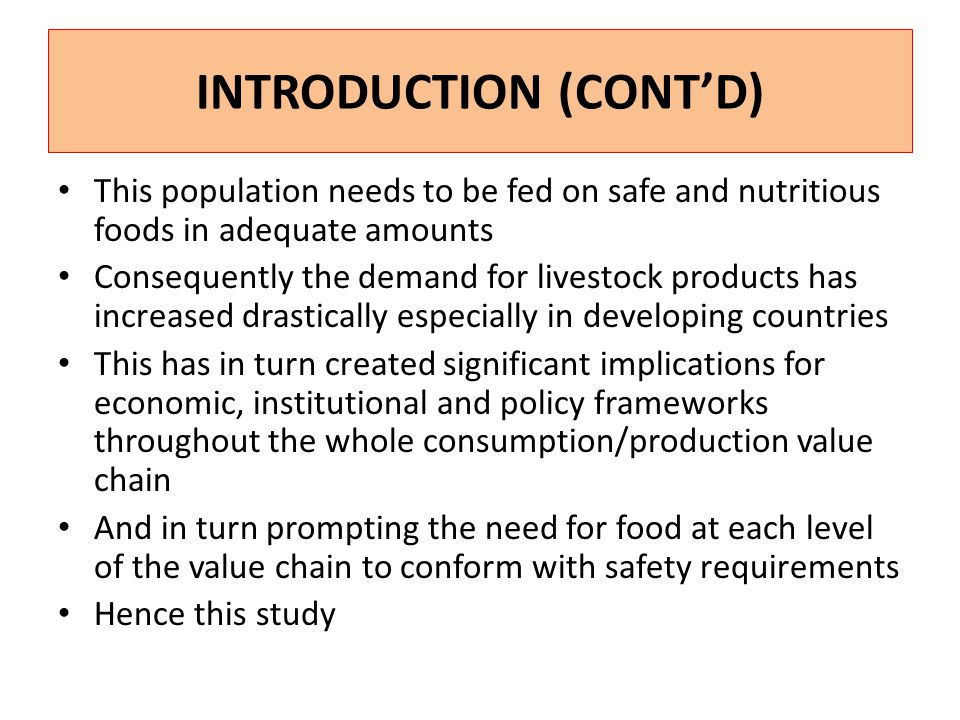 JUSTIFICATION Value addition to raw milk upgrades it to a high value product and increases its shelf-life e.g.