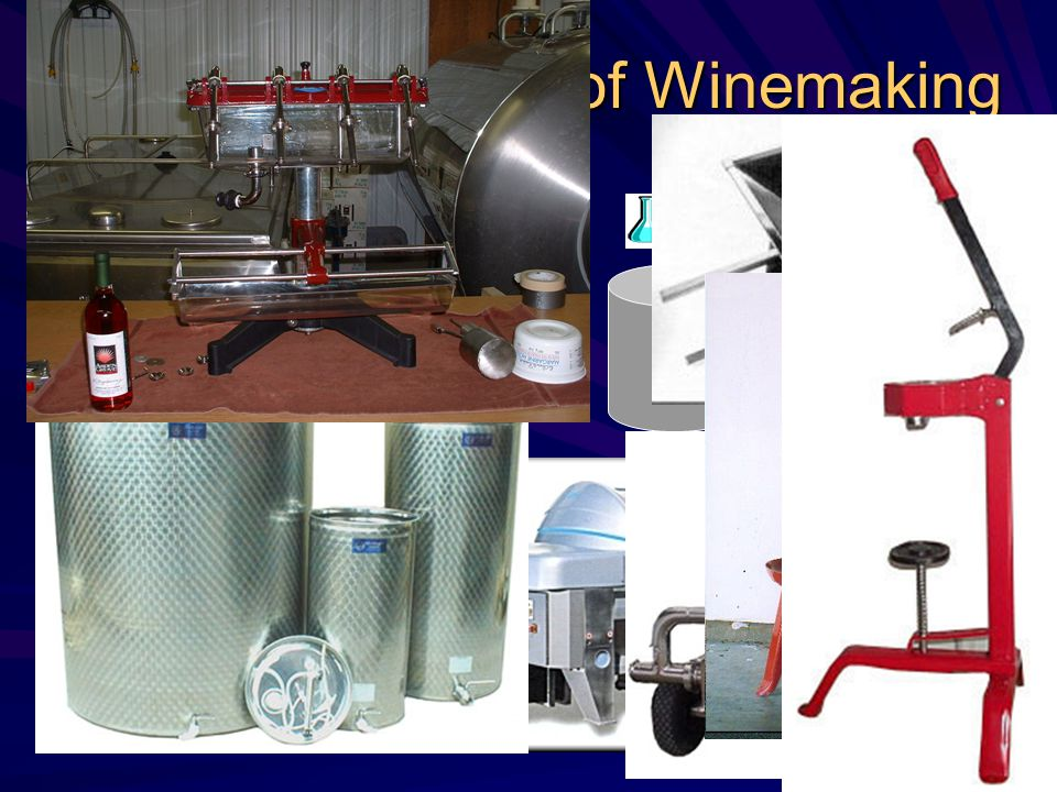 Fruit Delivery in crates Process of Winemaking Filter 3 X Bottler Primary Fermentation 15 – 20 days Fruit Crusher Pump Basket Press Pump Storage Tank Stabilize and Clear Add water, yeast.