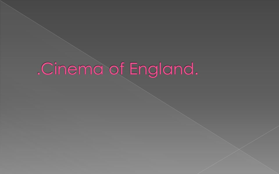 Modern cinema is generally regarded as descending from the work of the French Lumière brothers in 1895, and their show first came to London in 1896.