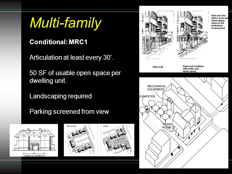 Conditional: MRC1 Articulation at least every 30'.