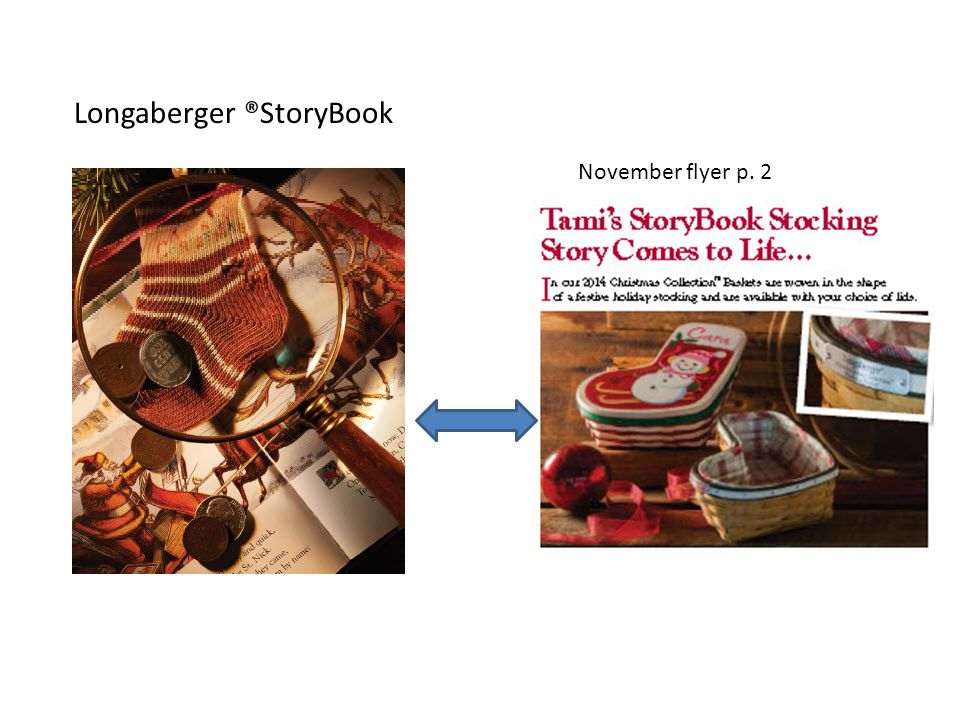 Longaberger ®StoryBook November flyer p. 2