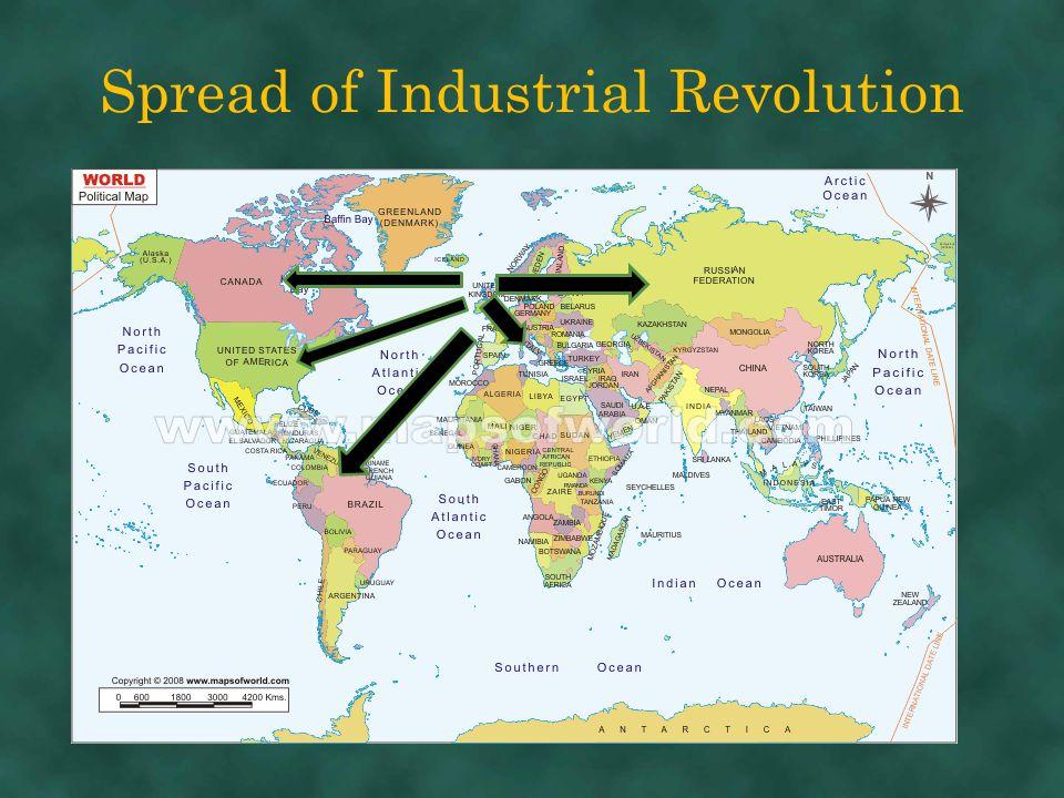 Spread of Industrial Revolution