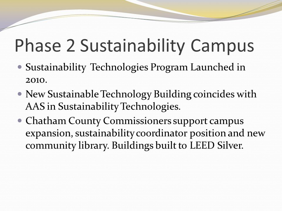 Campus Tour Developed by Green Team and CCCC Webmaster Engaging Campus Sustainability, Map