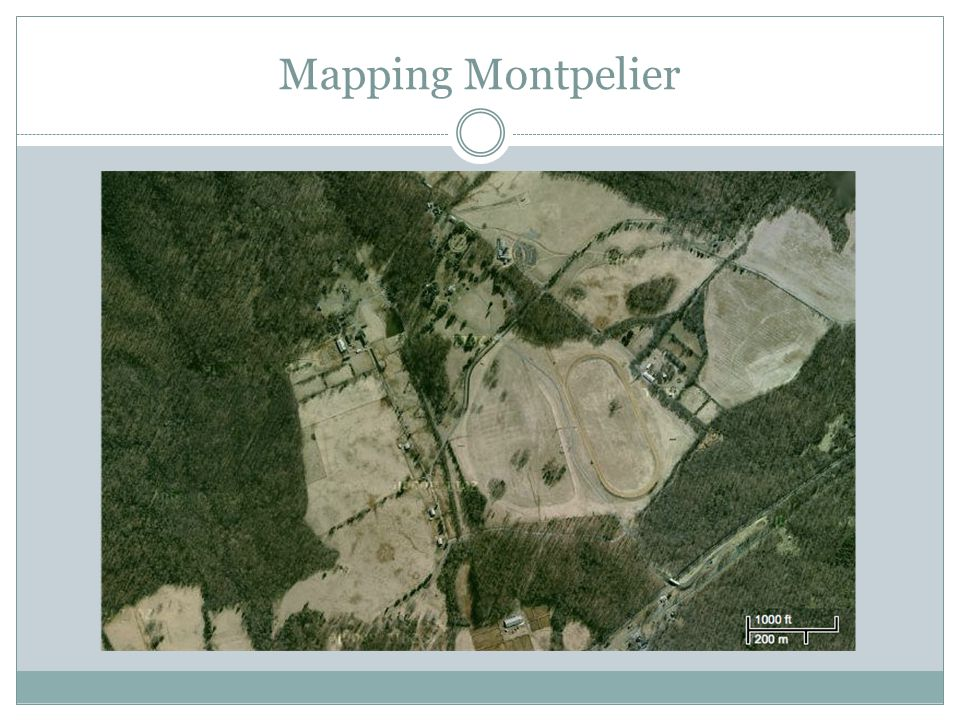 Mapping Montpelier