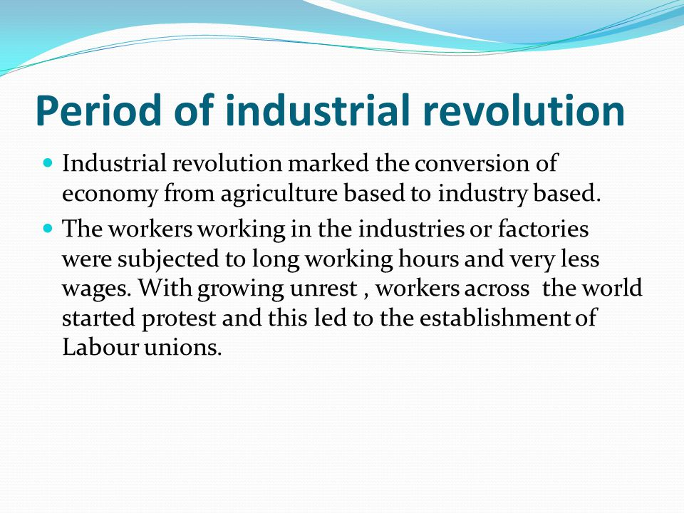 Post Industrial revolution The term Human resource Management saw a major evolution after 1850.