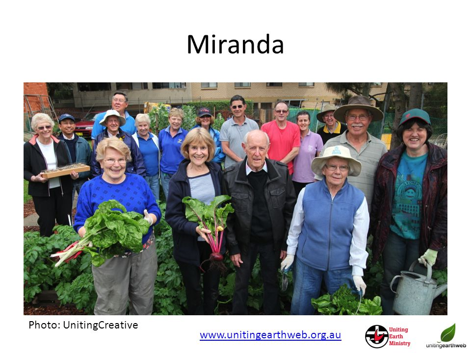 Miranda Photo: UnitingCreative www.unitingearthweb.org.au