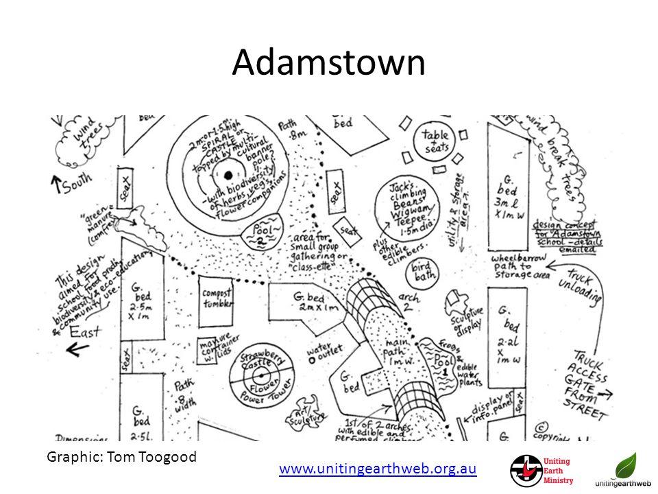 Adamstown www.unitingearthweb.org.au Graphic: Tom Toogood