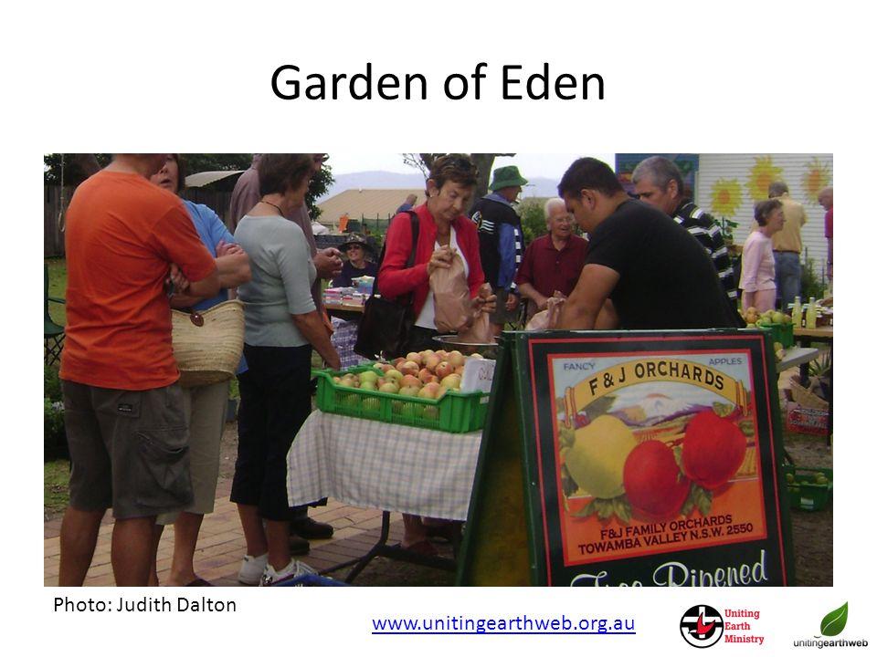 Garden of Eden Photo: Judith Dalton www.unitingearthweb.org.au