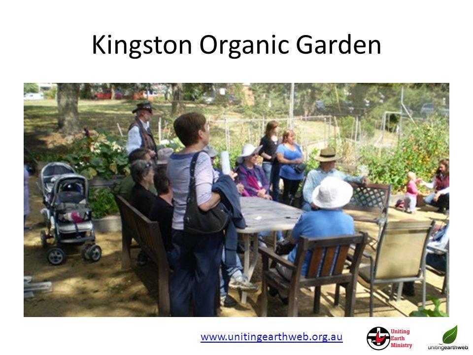 Kingston Organic Garden www.unitingearthweb.org.au