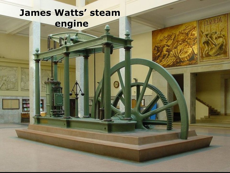 James Watts' steam engine
