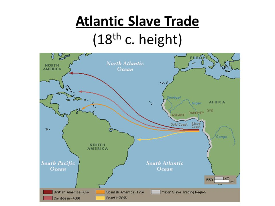 Atlantic Slave Trade (18 th c. height)