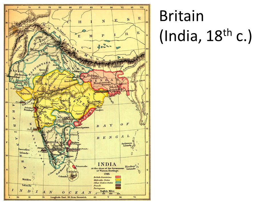 Britain (India, 18 th c.)