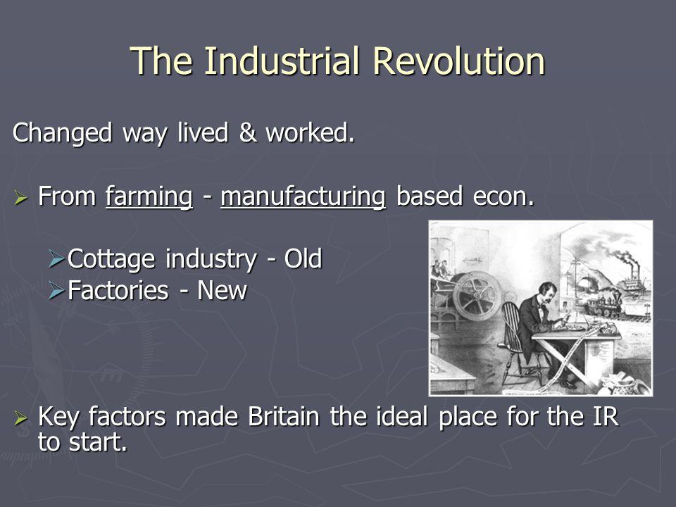 Transportation: New Technology ► James Watt  steam engine ► key power source  An energy revolution  Coal to power steam engine