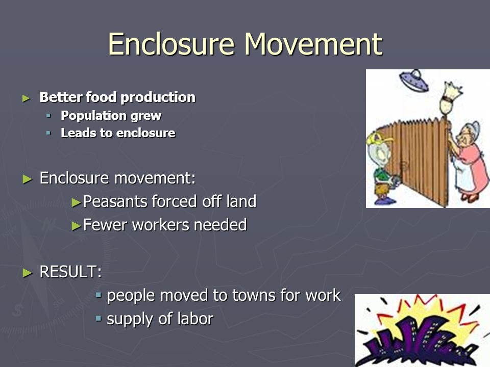 Factories: Child Labor ► Discipline  worse  Beaten or whipped to keep working  Could pay kids less to do work that was easy to accomplish  no consideration for their safety.