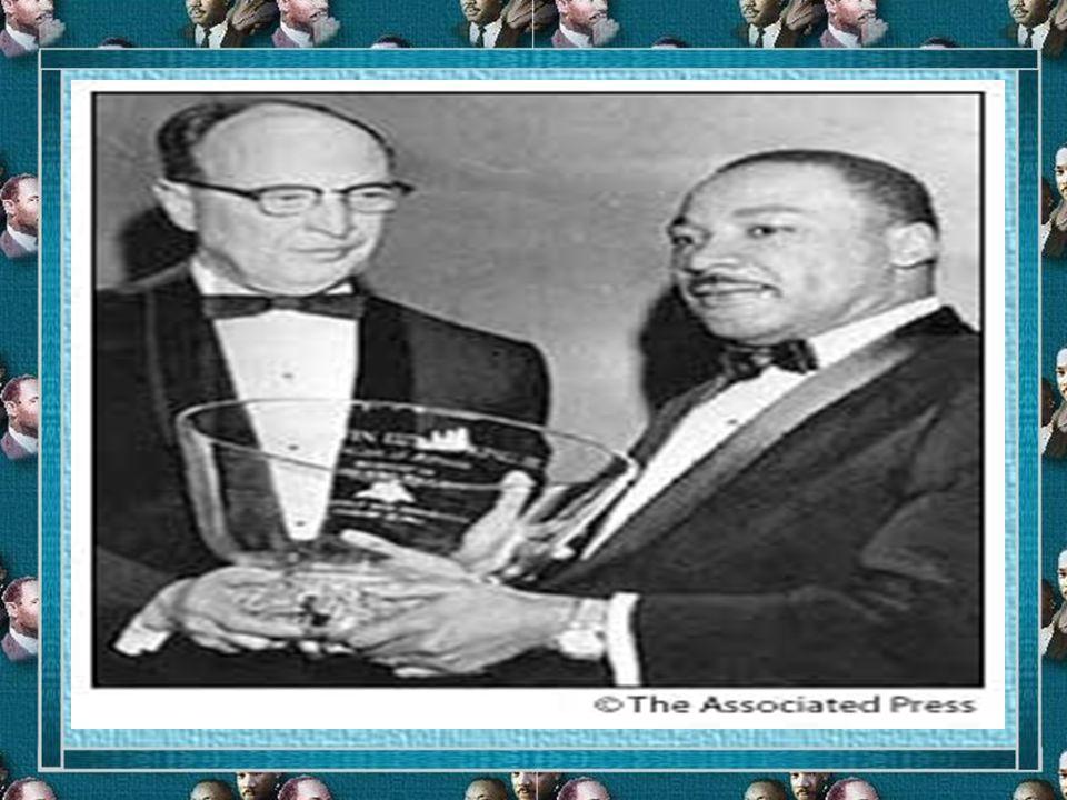 Martin Luther King, Jr. Nobel Peace Prize - 1964