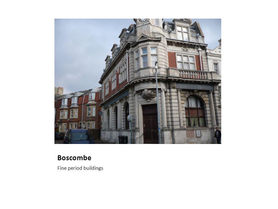 Boscombe Fine period buildings
