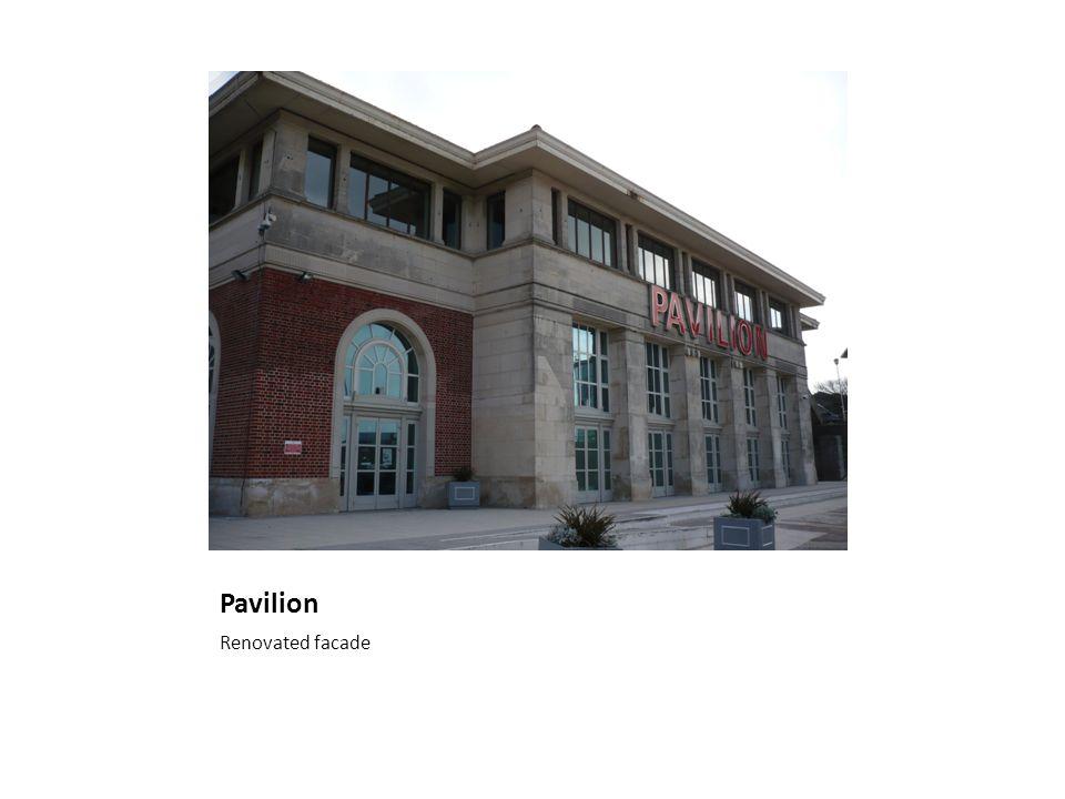 Pavilion Renovated facade