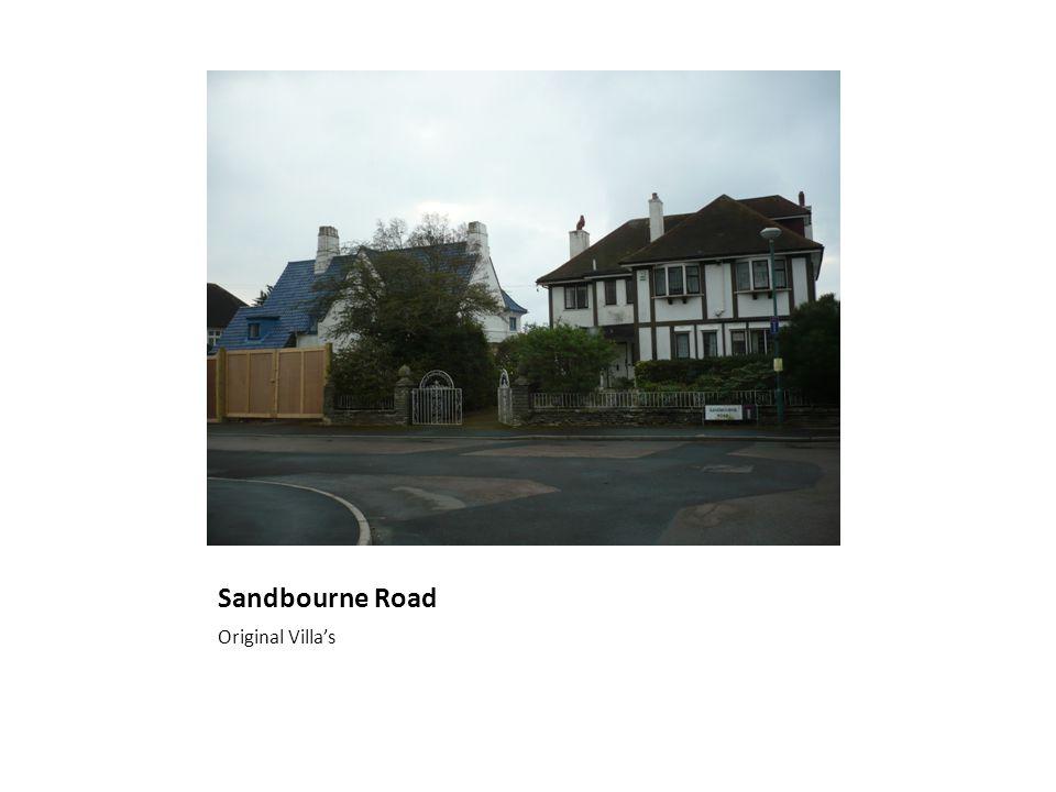Sandbourne Road Original Villa's